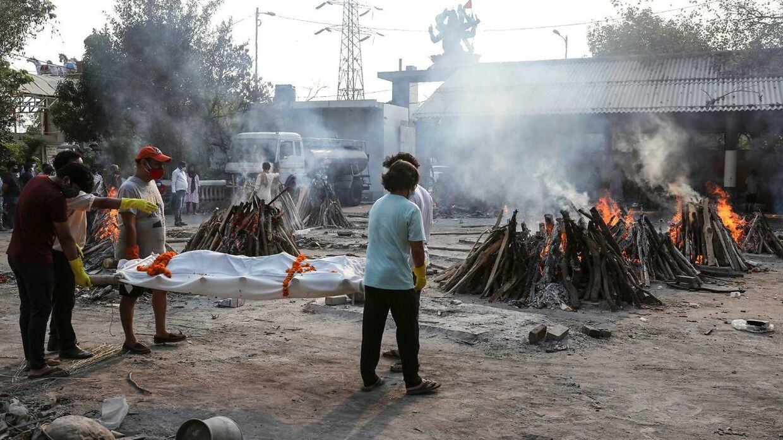 Coronasmitten er den seneste tid eksploderet i Indien.