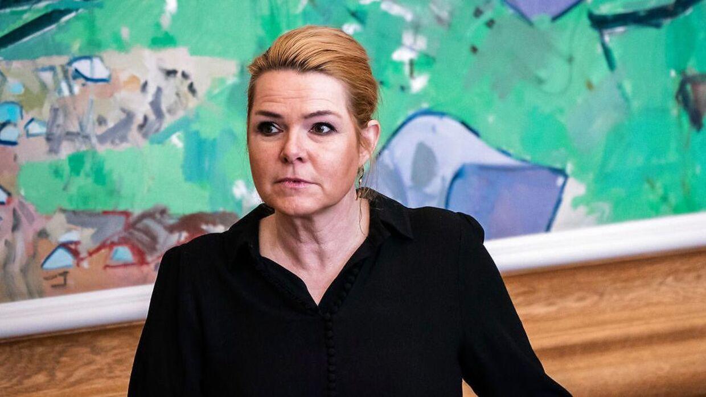 Inger Støjberg er i dag løsgænger.