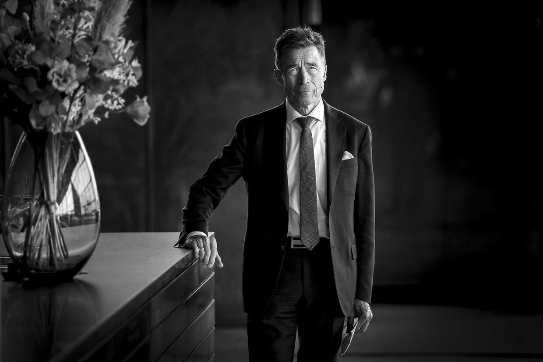 Anders Fogh Rasmussen under demokratikonferencen Copenhagen Democracy Summit i Skuespilhuset i København, mandag 10. maj 2021.