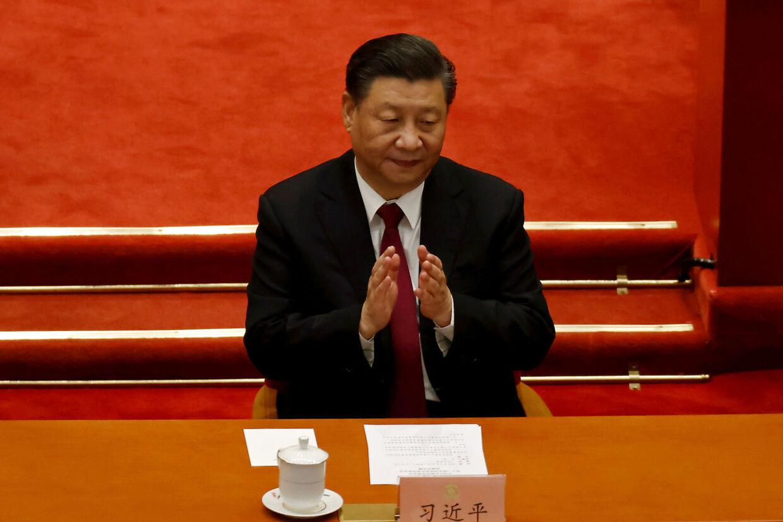 Kinas leder, Xi Jinpeng. Kina har forbudt Anders Fogh Rasmussen indrejse i landet