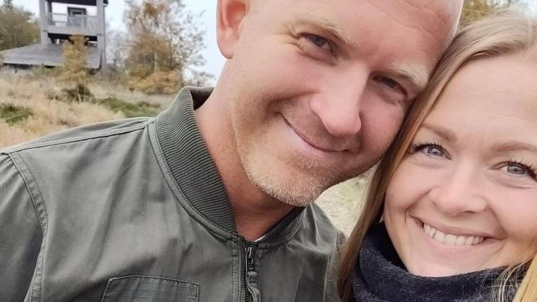Rikke Nielsen og Kim Mikkelsen bor i Ølgod og har fire 'delebørn' sammen.