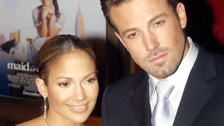 Jennifer Lopez og Ben Affleck i 2002.