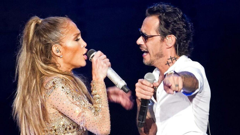 Jennifer Lopez har været gift med Marc Anthony, som hun har to børn sammen med.