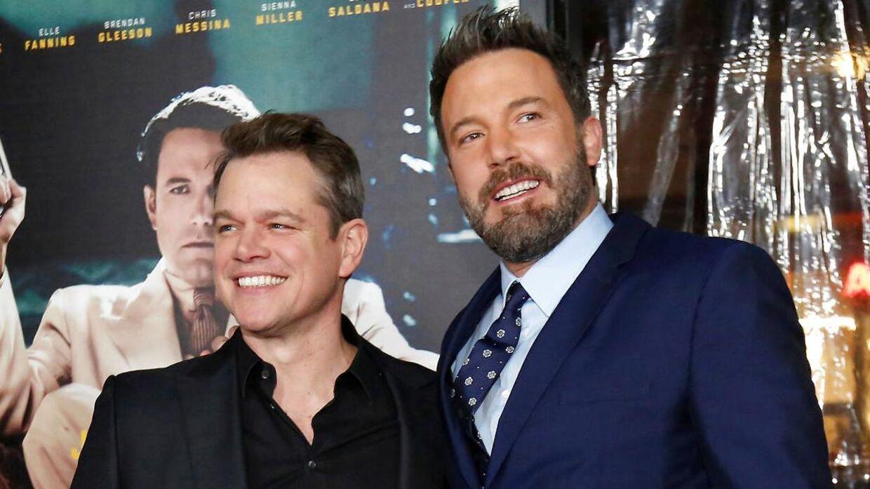 Matt Damon og Ben Affleck i 2017.