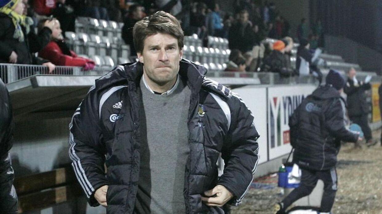 Michael Laudrup stod i spidsen for Brøndby fra 2002 til 2006.
