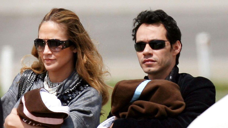 Forholdet til Marc Anthony var nok mest et plaster på det knuste hjerte, har Lopez fortalt senere. Parret fik sammen tvillinger.
