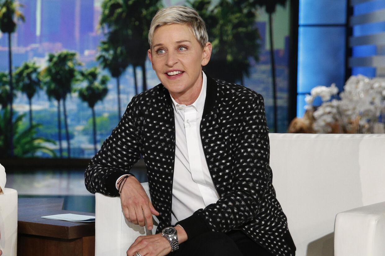 Ellen DeGeneres er en af de mest populære talkshowværter i USA og store dele af den øvrige verden. Næste år lukker og slukker hun sit show efter 19 år på skærmen. (Arkivfoto) John Locher/Ritzau Scanpix