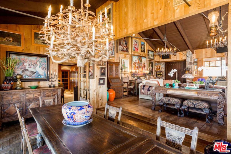 Den rustikke indretning er bevaret. Foto: Realtor.com