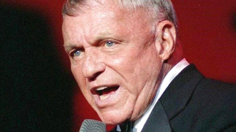 Frank Sinatra er en af verdens bedst sælgende musikere. Han døde i 1998. AFP PHOTO/PAUL J RICHARDS