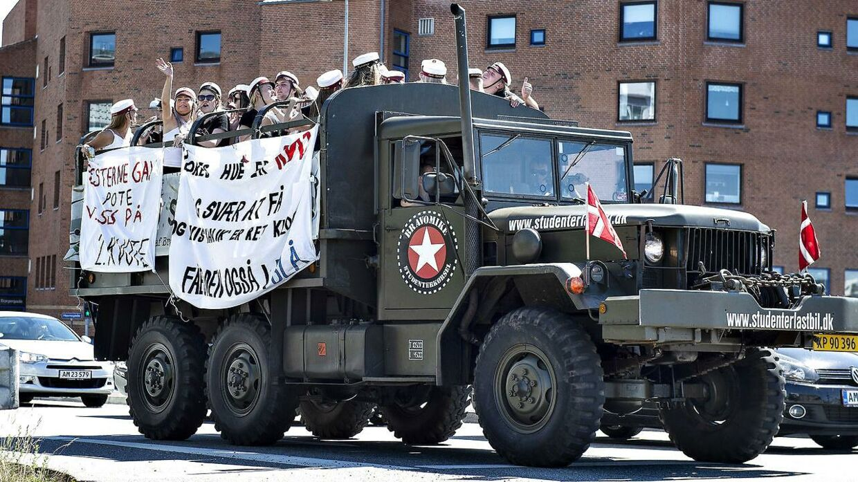Tjek din vogn, lyder det fra politiet. Arkivfoto.