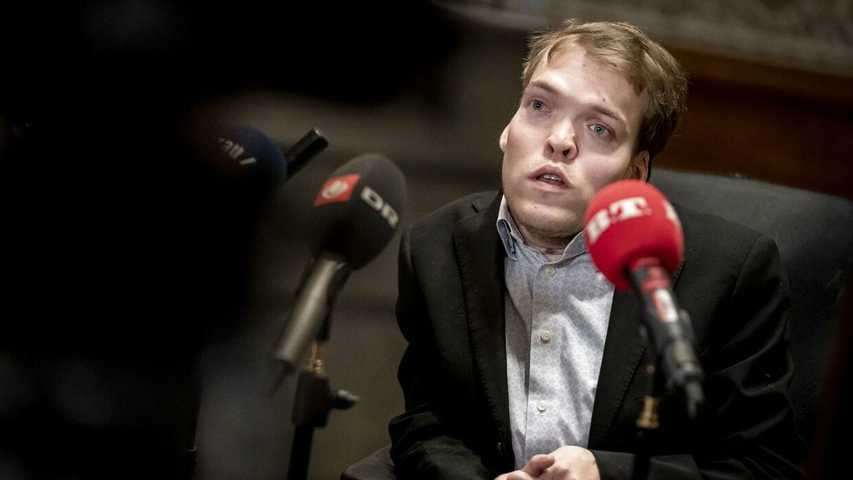 Kristian Hegaard kalder aktionen for en hadforbrydelse.