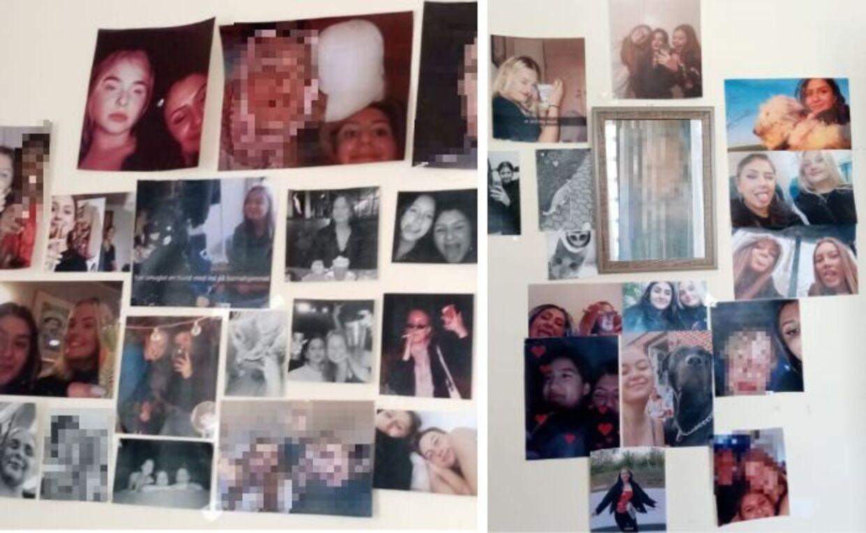 På væggen i det værelse, hvor Sarah bor, hænger fotos af hendes venner hjemme i Danmark. Det er de minder, som holder hende motiveret for at fortsætte med at komme for at komme hjem igen.