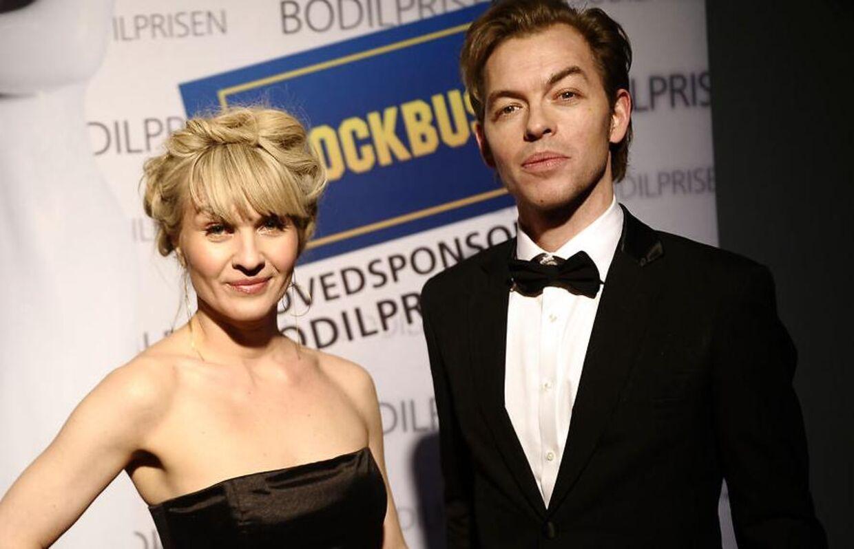 Det er ti år siden, at Mark Linn var nede på knæ at fri til Anne Sofie Espersen. Her ses parret ved Bodil-uddelingen i 2012.