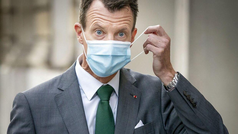 Joachim, 51, arbejder nu som forsvarsattaché ved den danske ambassade i Paris.