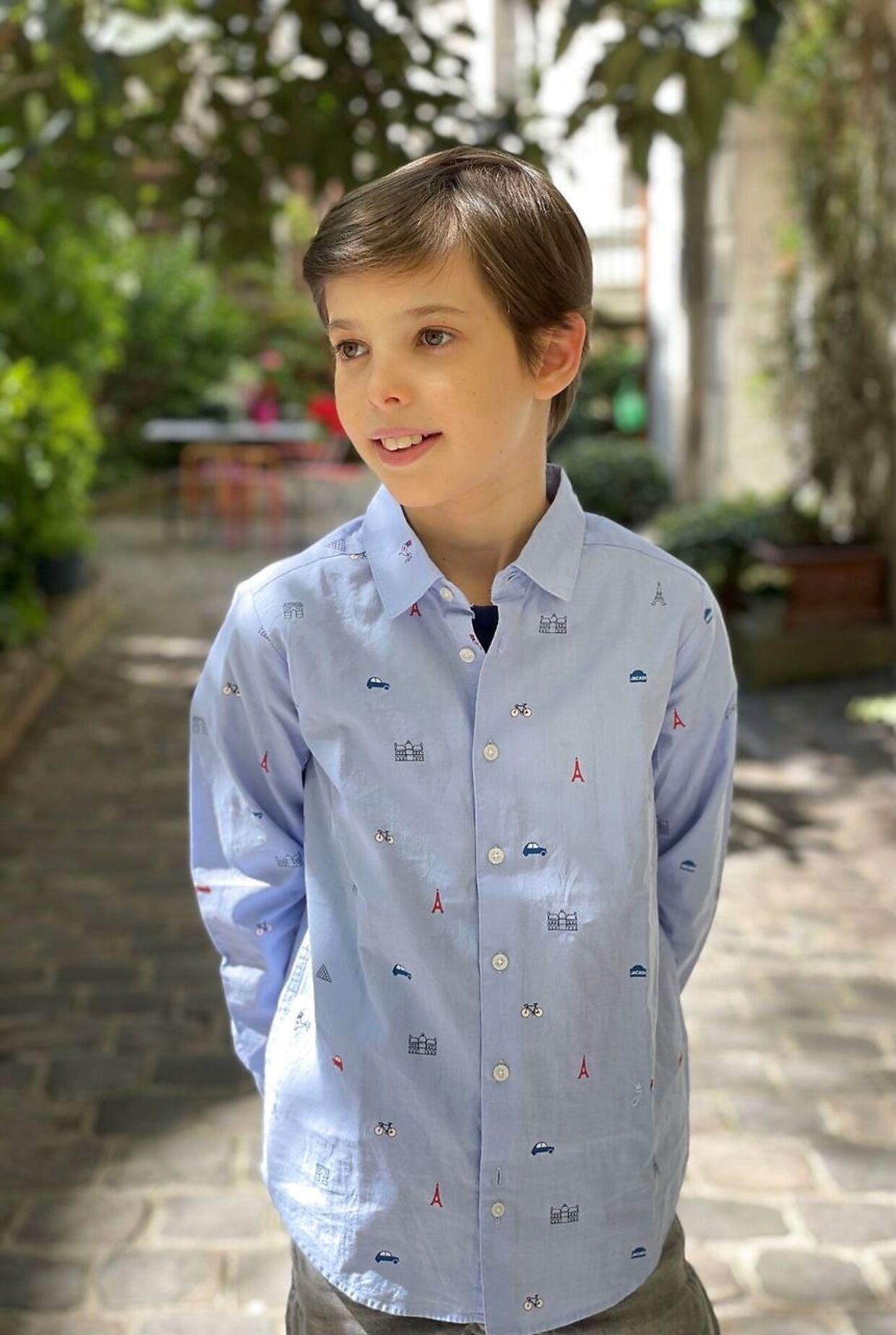 Prins Henrik fyldte 12 år i år.