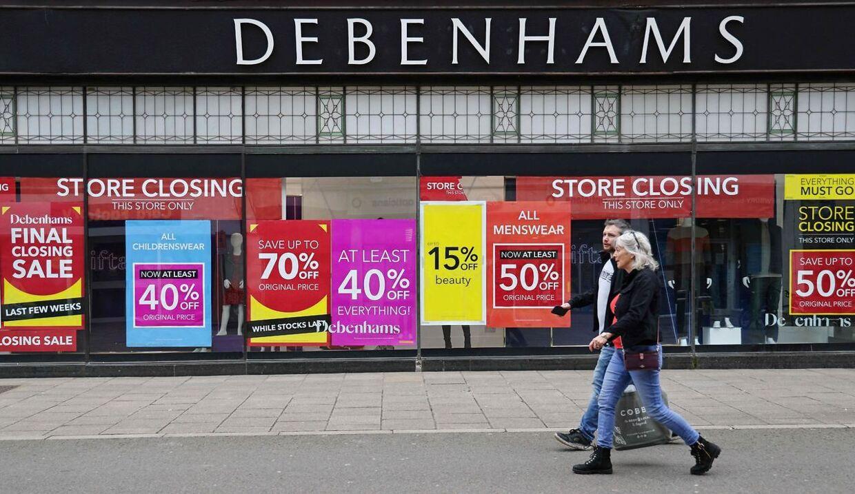 De karakteristiske butikker har lørdag åbent for sidste gang (Photo by ADRIAN DENNIS / AFP)
