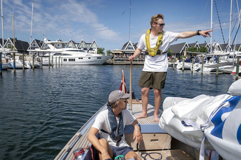 Rungsted Havn. Coronakrisen har ført til rekordstor efterspørgsel på bådpladser.