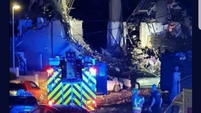 Twitter-brugeren @murphy30220538 kalder eksplosionen 'frygtelig'.