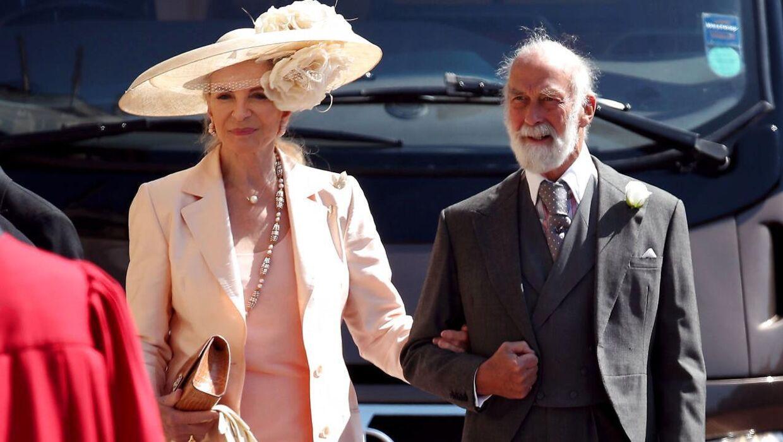 Prinsesse Michael af Kent med sin mand, prins Michael af Kent, fætter til den britiske dronning.