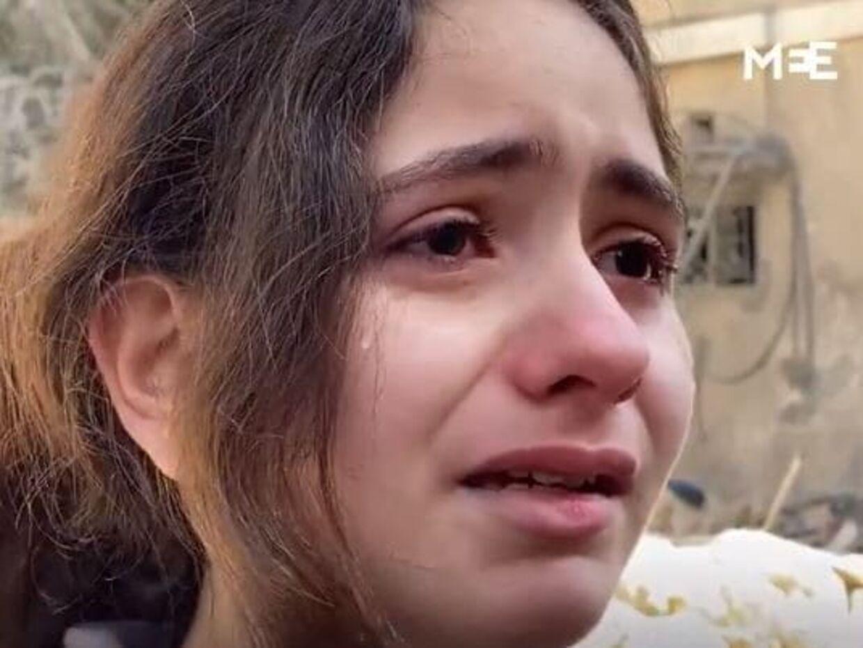 10-årige Nadine Abdel-Taif bor i Gaza.