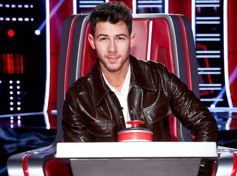 Nick Jonas i 'The Voice'