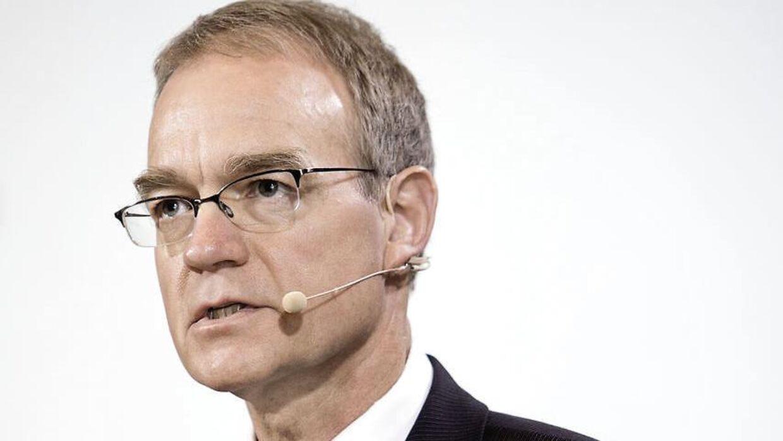 Nationalbankdirektør Per Callesen har opfodret direkte til et politisk indgreb på boligmarkedet. (Foto: Thomas Lekfeldt/Scanpix 2013)