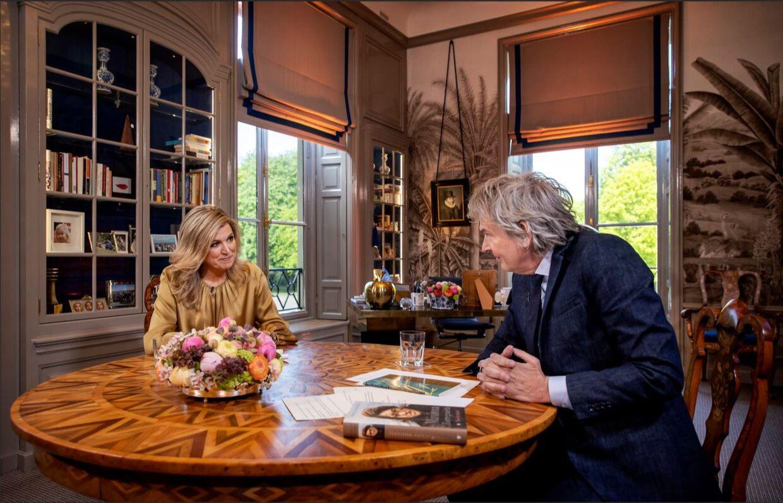 Den hollandske dronning Máxima tog imod den hollandske tv-vært Matthijs van Nieuwkerk i sit hjem på Huis ten Bosch-paladset i den hollandske storby Haag til et stort fødselsdagsinterview til den hollandske tv-kanal NPO 1.