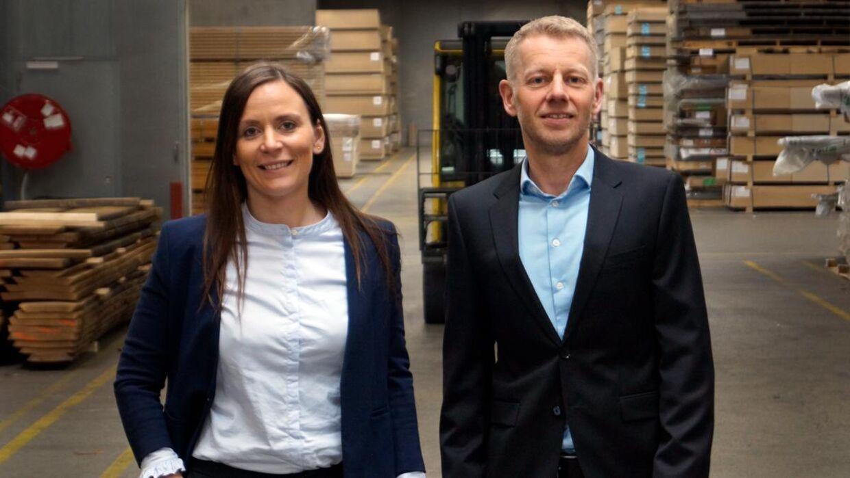 Camilla Hyldgaard Thomsen og Mads Stenstrp.