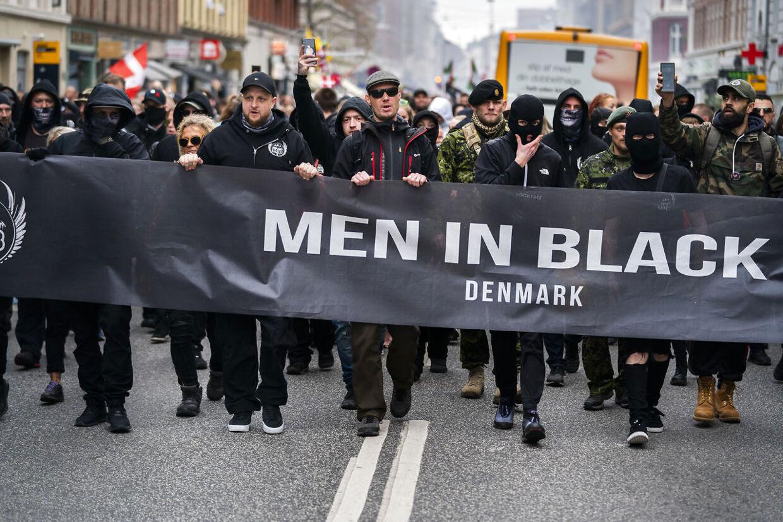 Flere personer er blevet dømt for deres rolle i uroligheder ved Men In Black-demonstrationerne tidligere på året.
