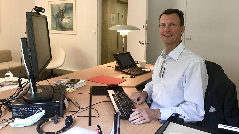 Prins Joachim startede på den danske ambassade i september 2020.