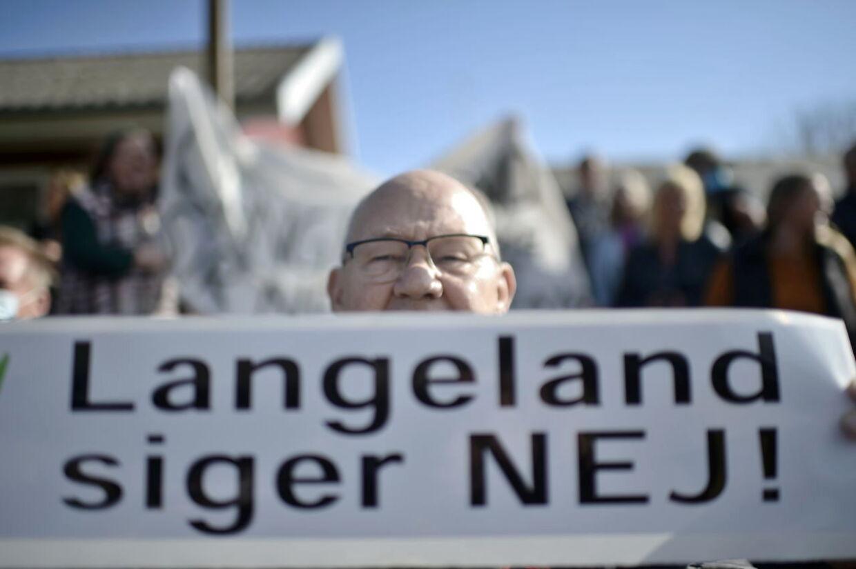 Udlændinge- og integrationsminister Mattias Tesfaye besøger det planlagte udrejsecenter Holmegaard og mødes efterfølgende med beboere på Langeland torsdag den 20. maj 2021