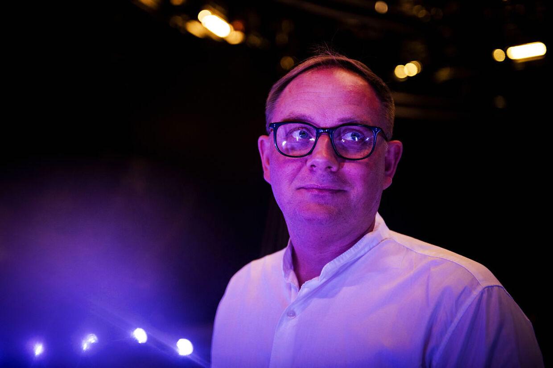 DRs underholdningschef Jan Lagrmand Lundme.