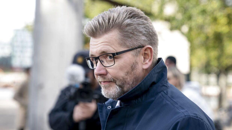 Pressemødet, hvor Frank Jensen går af som overborgmester i København.