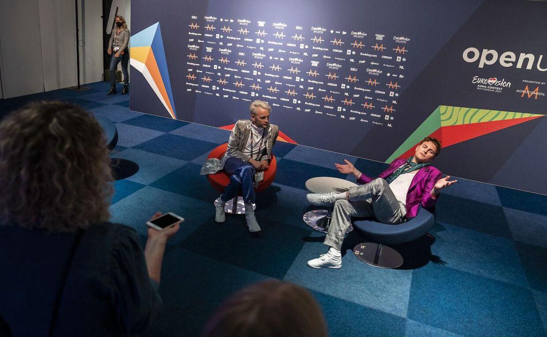 Eurovision-finalen bliver desværre uden dansk deltagelse i år. De europæiske seere gav ikke Fyr & Flamme nok stemmer i semifinalen.