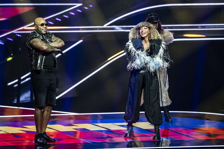 Sangerinden Senhit og den amerikanske stjernerapper Flo Rida stiller op for San Marino.
