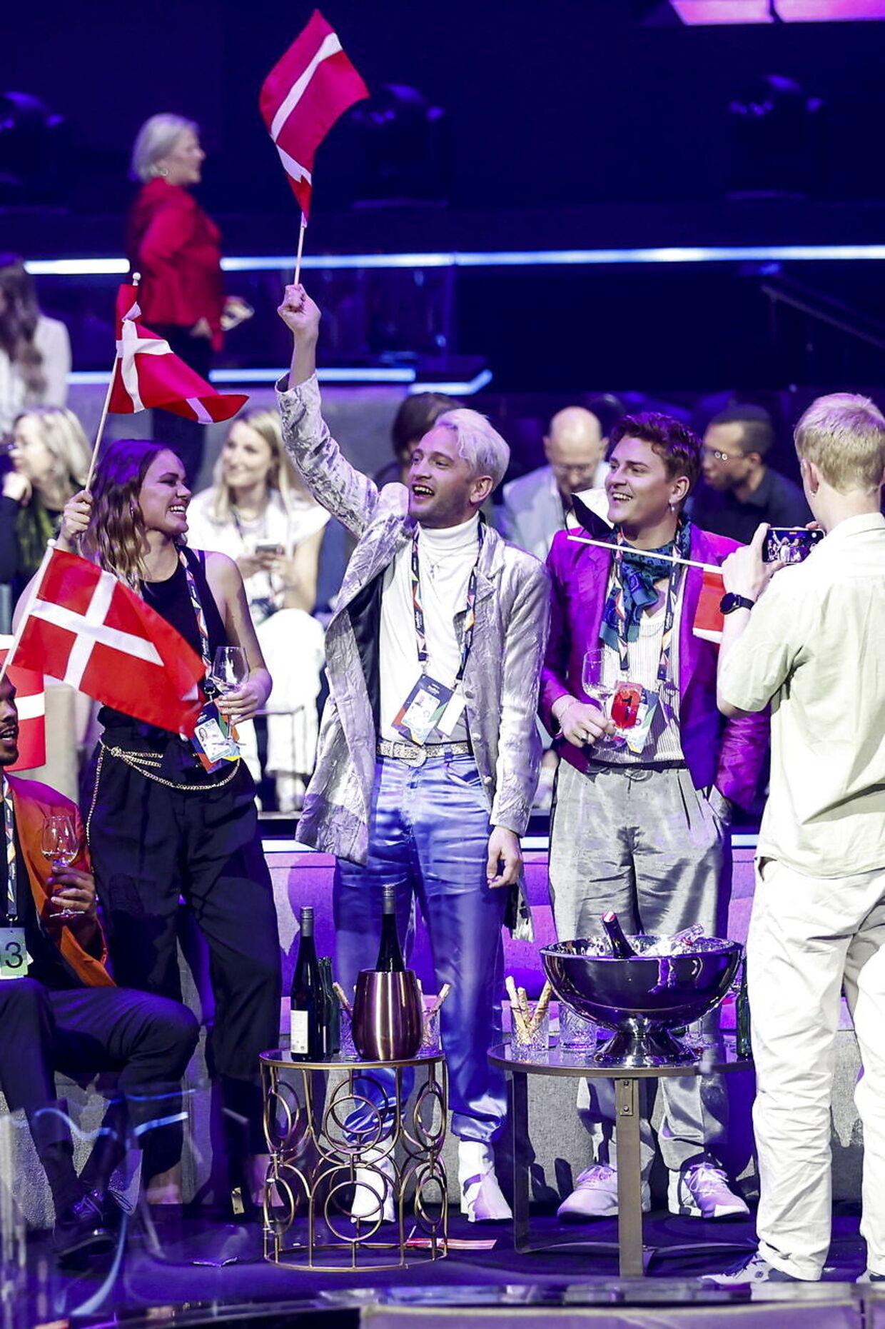 Det blev desværre ikke til en finaleplads til danske Fyr & Flamme i år.