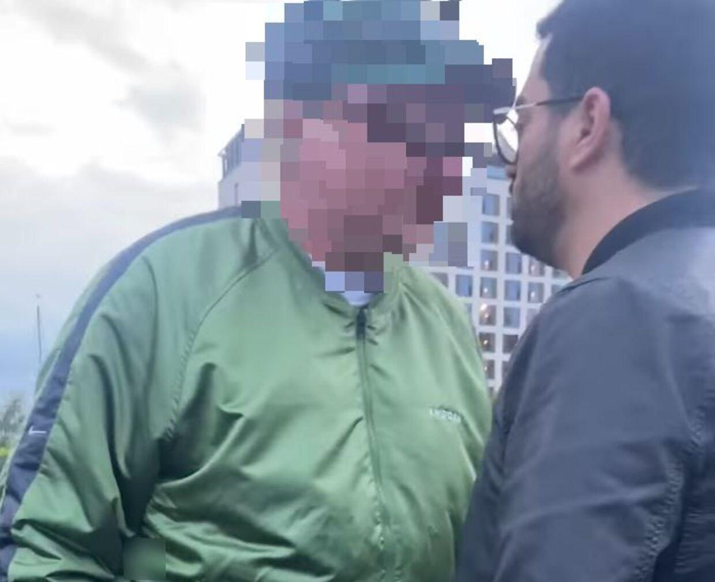 Mahran Hamdi stillede sig foran den vrede mand for at skærme sine to børn og kone på havnen i Kastrup forrige weekend. Videoen af episoden har siden ført til stor politisk opmærksomhed.