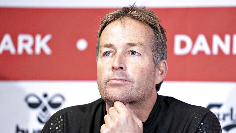 Landstræner Kasper Hjulmand.