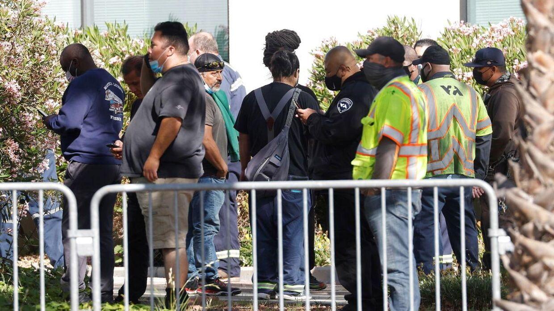 Evakuerede borgere.