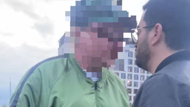 Manden på videoen undskylder nu sin opførsel.