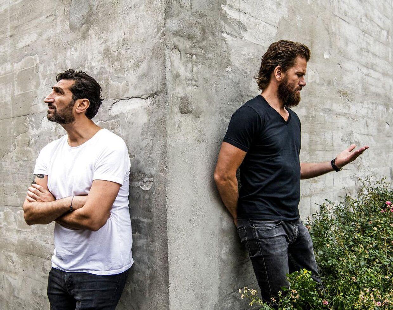 Nikolaj Lie Kaas og Fares Fares spillede makkerparret Carl Mørck og Assad i de første fire film.