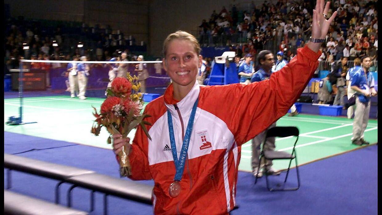 Camilla Martin vandt sølv ved OL i Sydney.