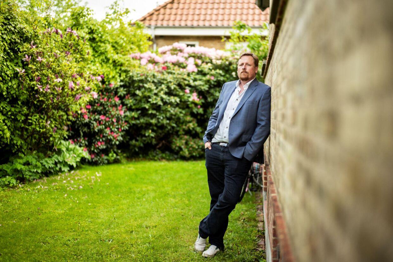 Rasmus Kristensen i sin baghave.