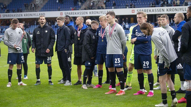 FC København måtte i denne sæson nøjes med bronze.