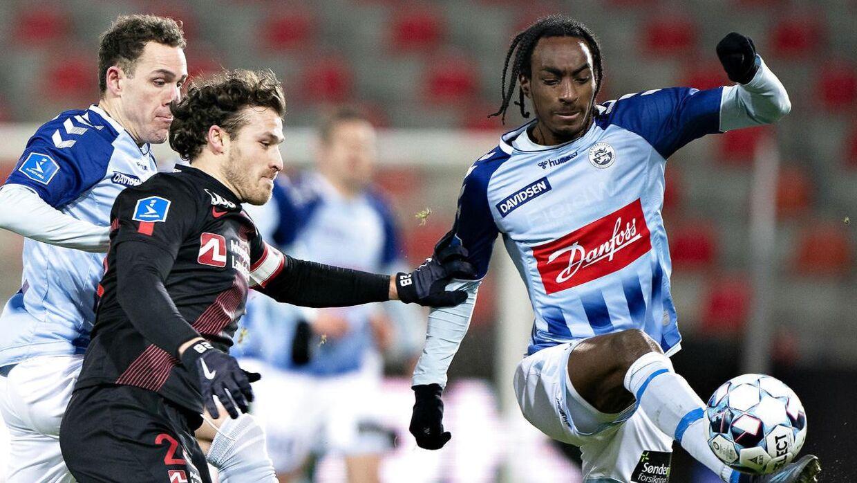 Jeppe Simonsen er ny A-landsholdsspiller for Haiti.