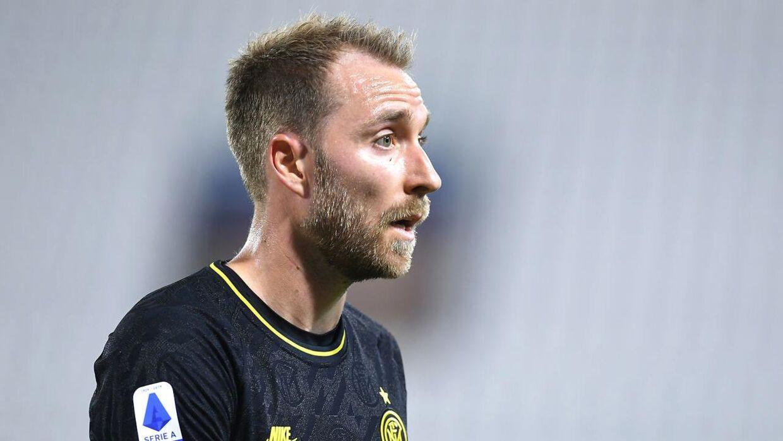 29-årige Christian Eriksens cheftræner Antonio Conte er fortid i Inter.