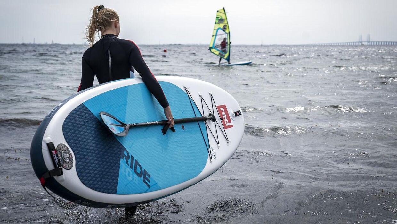 Paddleboards er blevet populære. Dette billede har intet med Watery eller de utilfredse kunder at gøre.