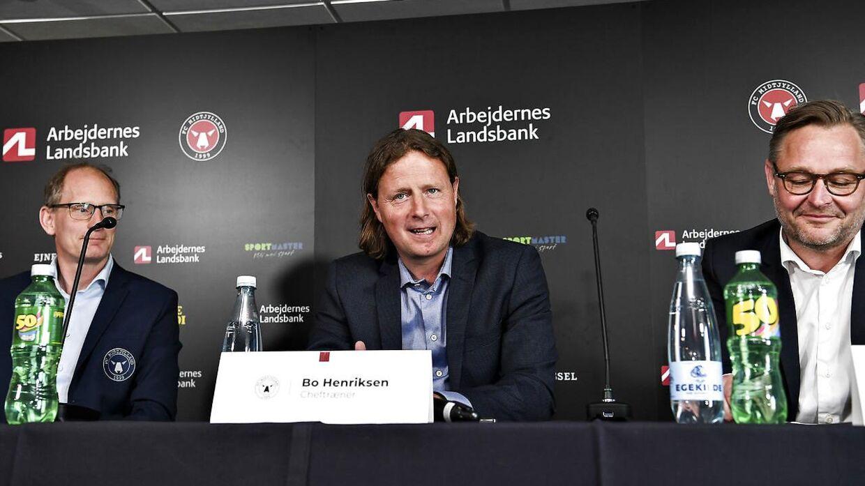 Bo Henriksen er ny cheftræner i Midtjylland.
