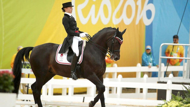 Agnete Kirk Thinggaard under OL i Rio i 2016.