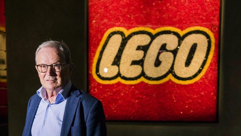 Kjeld Kirk Kristiansen - tredje generations ejer af LEGO Koncernen og formand for bestyrelsen i KIRKBI A/S - fotograferet i LEGO House i Billund.